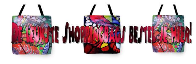 De leukste shoppingbags vindt je hier
