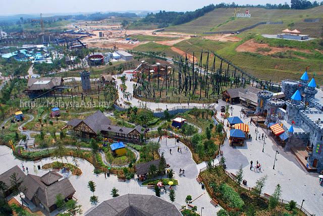 Legoland Malaysia Aerial View