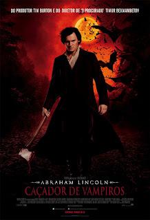 "Cabine de imprensa do filme ""Abraham Lincoln: Cacador de Vampiros"". 9"