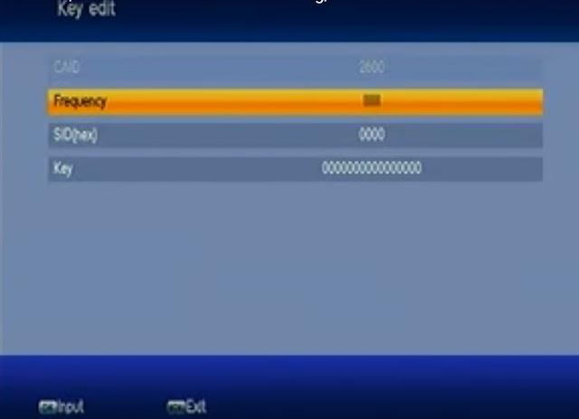 Cara Masukkan dan Mengisi Kode BissKey Semua Jenis Receiver TANAKA T-22 HD Jurassic, T-21 Samurai, Big Tv, T-28 Express Premium HD, dan Future HD