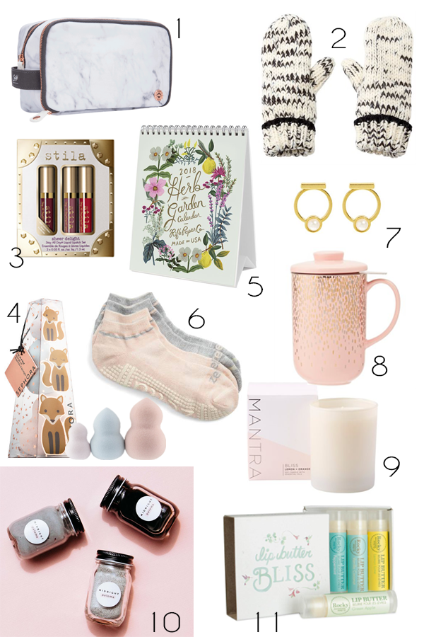 $25 and under gift guide round-up stocking stuffers