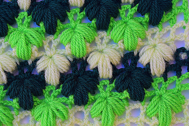 Imagen de puntada verde a crochet y ganchillo Majovel crochet 1