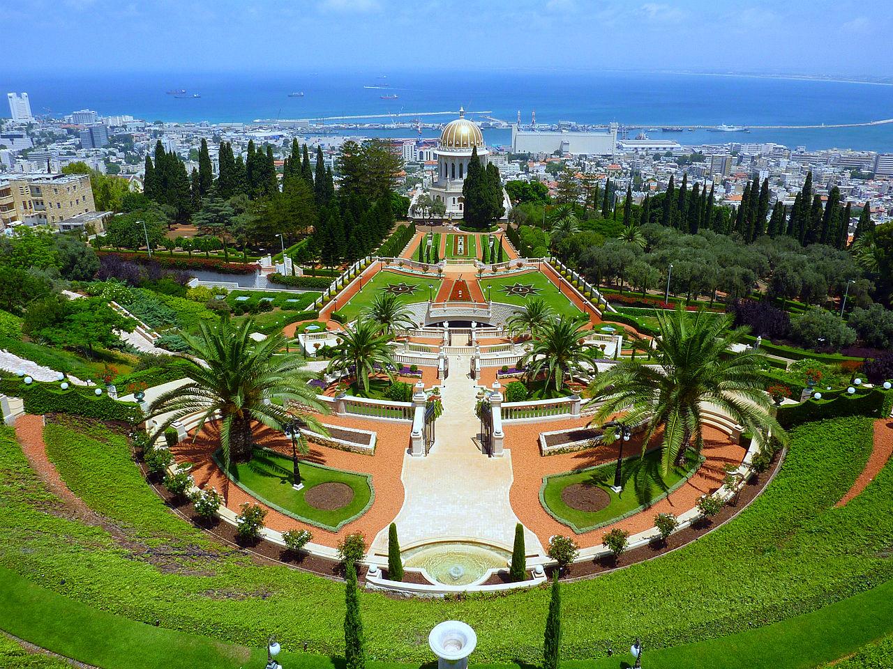 израиль: My Greatest World Destination: The Hanging Gardens Of
