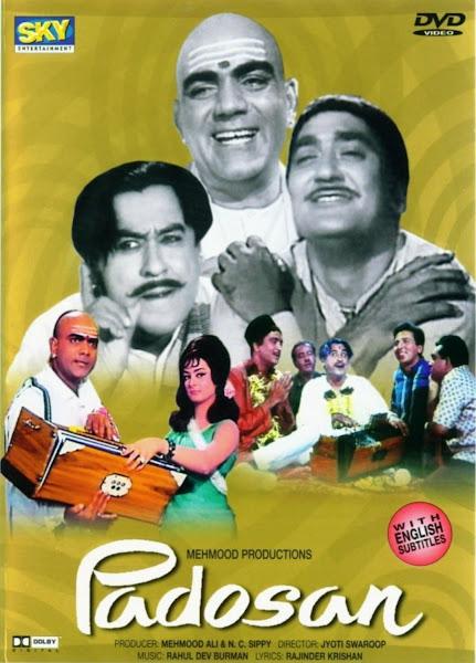 Poster Of Padosan 1968 Hindi 720p HDRip Full Movie Download