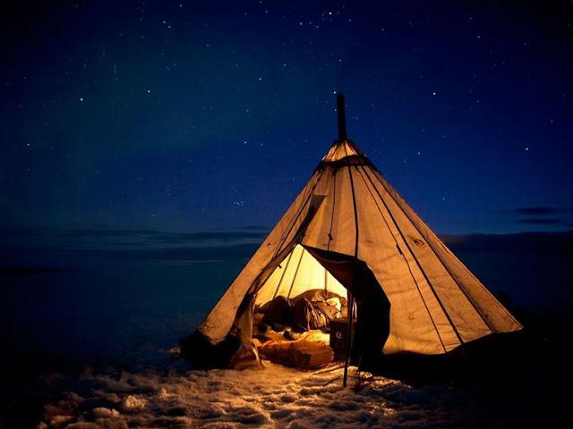 sevgiliyle kamp yapmak
