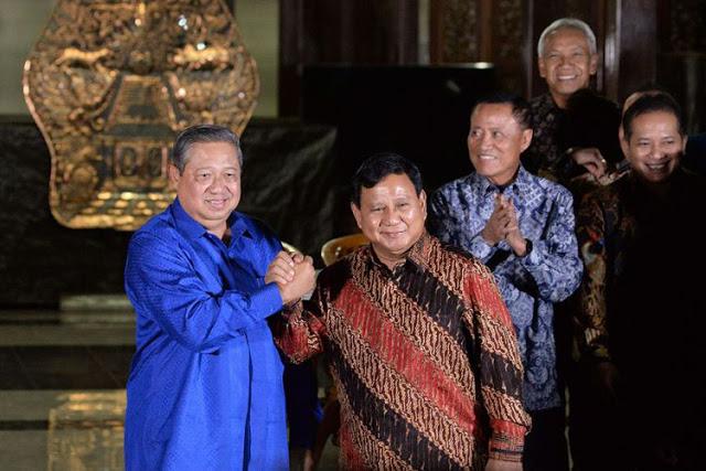 Ada yang Sangat Gelisah, Rabu Besok Prabowo Bertemu SBY