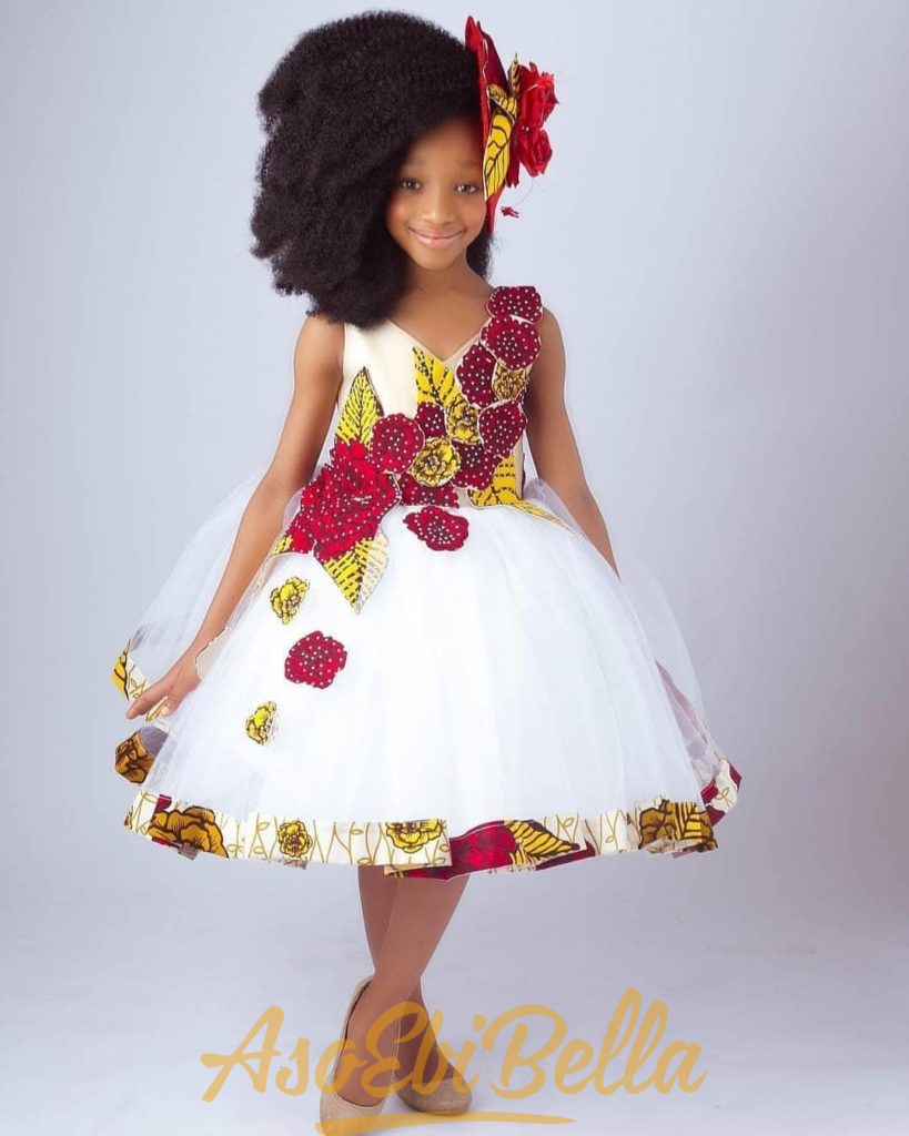 #EbFabLook Vol 47: Try This New Kids Aso-Ebi Style Worn From 2nd-10th March 2019