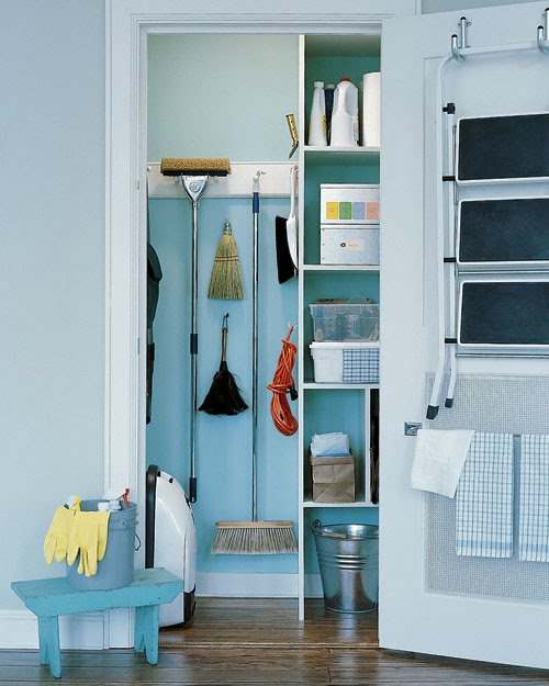 Organizing And Storing Cleaning Supplies Materials The