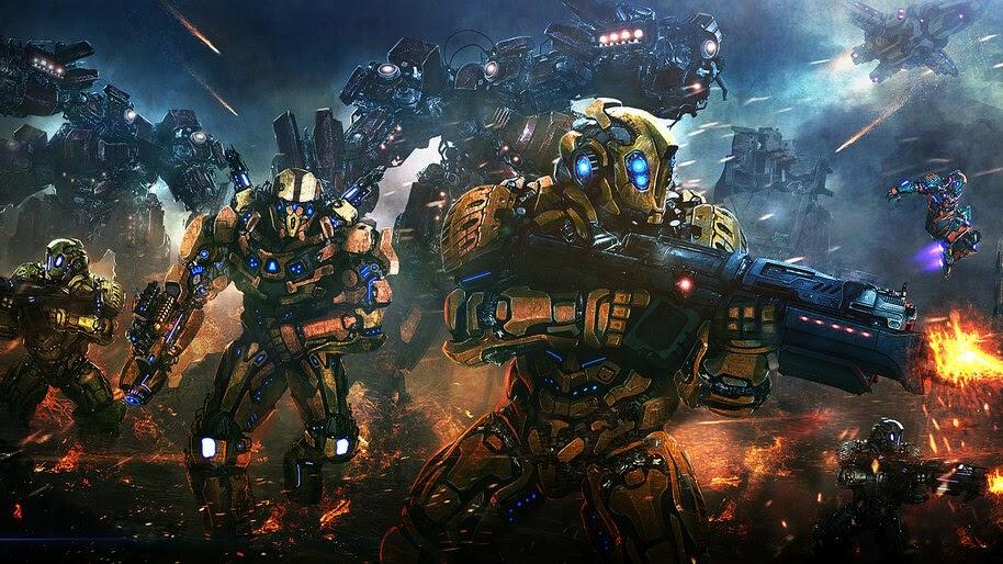 Sci-Fi, Mecha, Robot, Army, 4K, #4.605