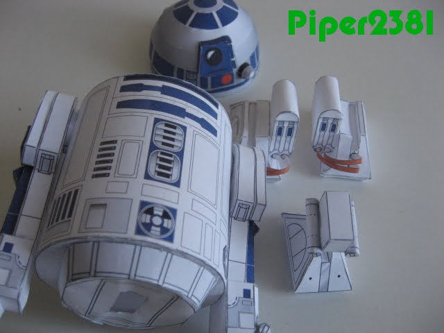 Piper2381 r2 d2 papercraft for R2d2 leg template