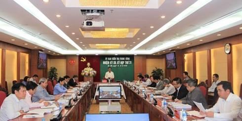 Thương vụ AVG:Xem xét thi hành kỷ luật nguyên Bộ trưởng Bùi Quang Vinh