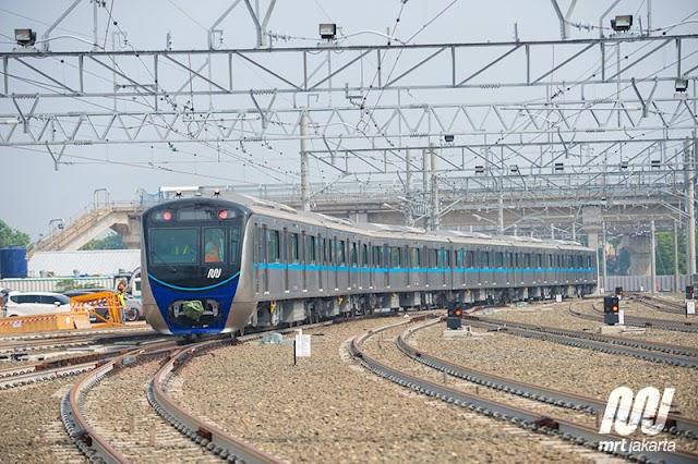Pendaftaran Online Uji Coba MRT Jakarta Dibuka