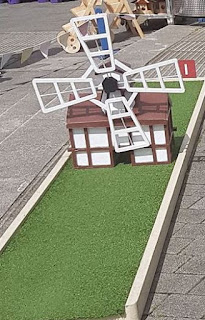 Crazy Golf course at the Ipswich Maritime Festival. Photo by Rob Harper, 20th August 2017