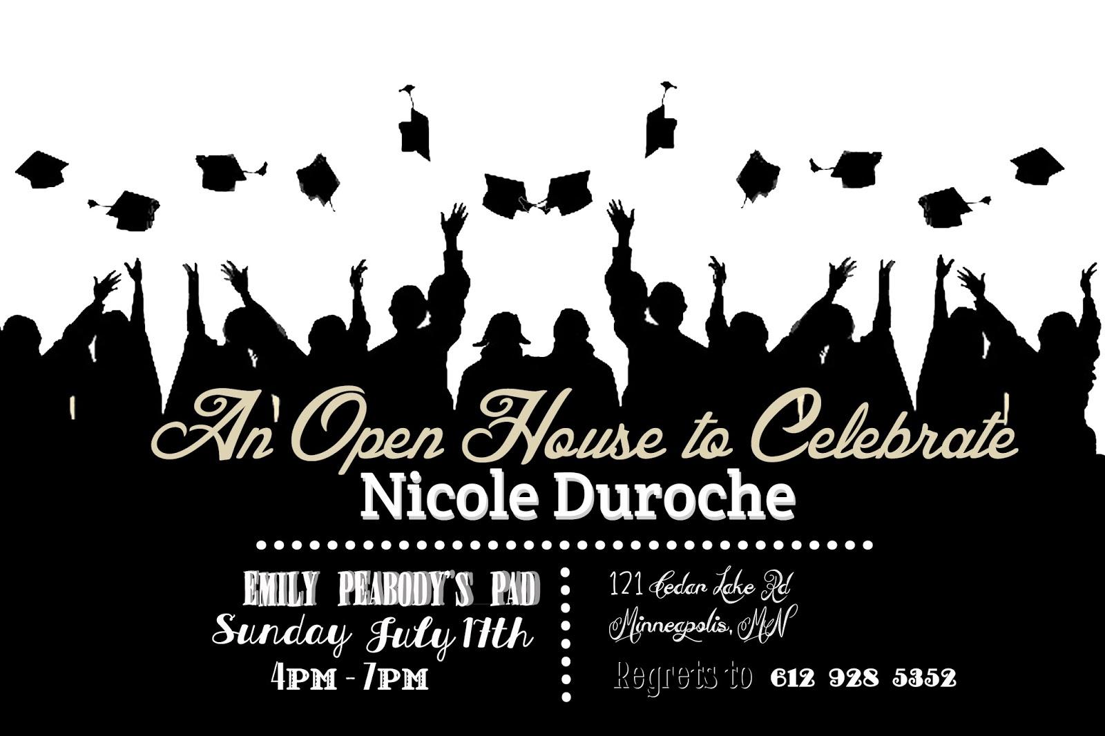 I Do On A Dime Free Graduation Invite Template