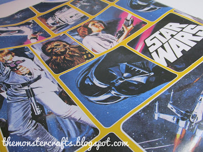 star wars wapping paper