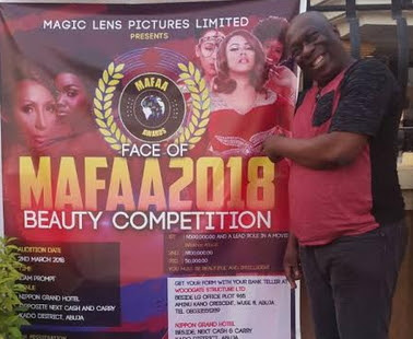 Charles Awurum Beauty Pageant