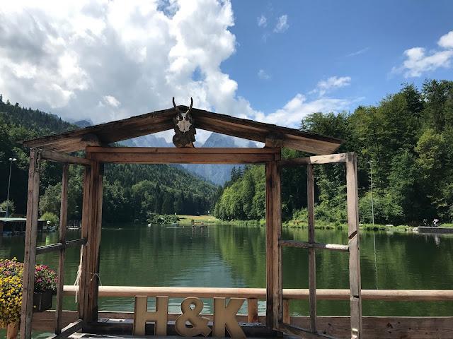 Best prospects window frame wedding pictures, Wedding abroad, Mountain wedding lake-side at the Riessersee Hotel Resort Bavaria, Germany, Garmisch-Partenkirchen
