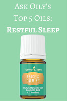 Top 5 essential oils for natural sleep assistance peace and calming | Hot Pink Crunch