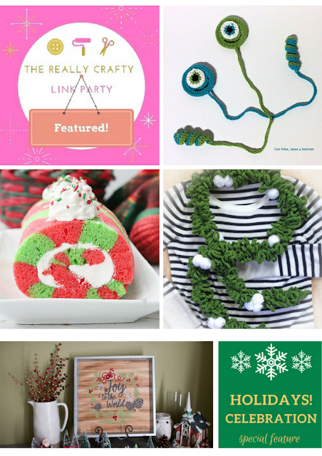 The Really Crafty Link Party #98 featured posts