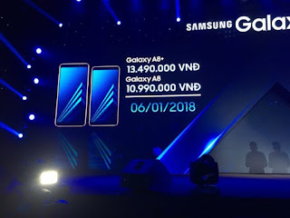 Samsung confirms Galaxy A8 (2018) and A8+ (2018) release date