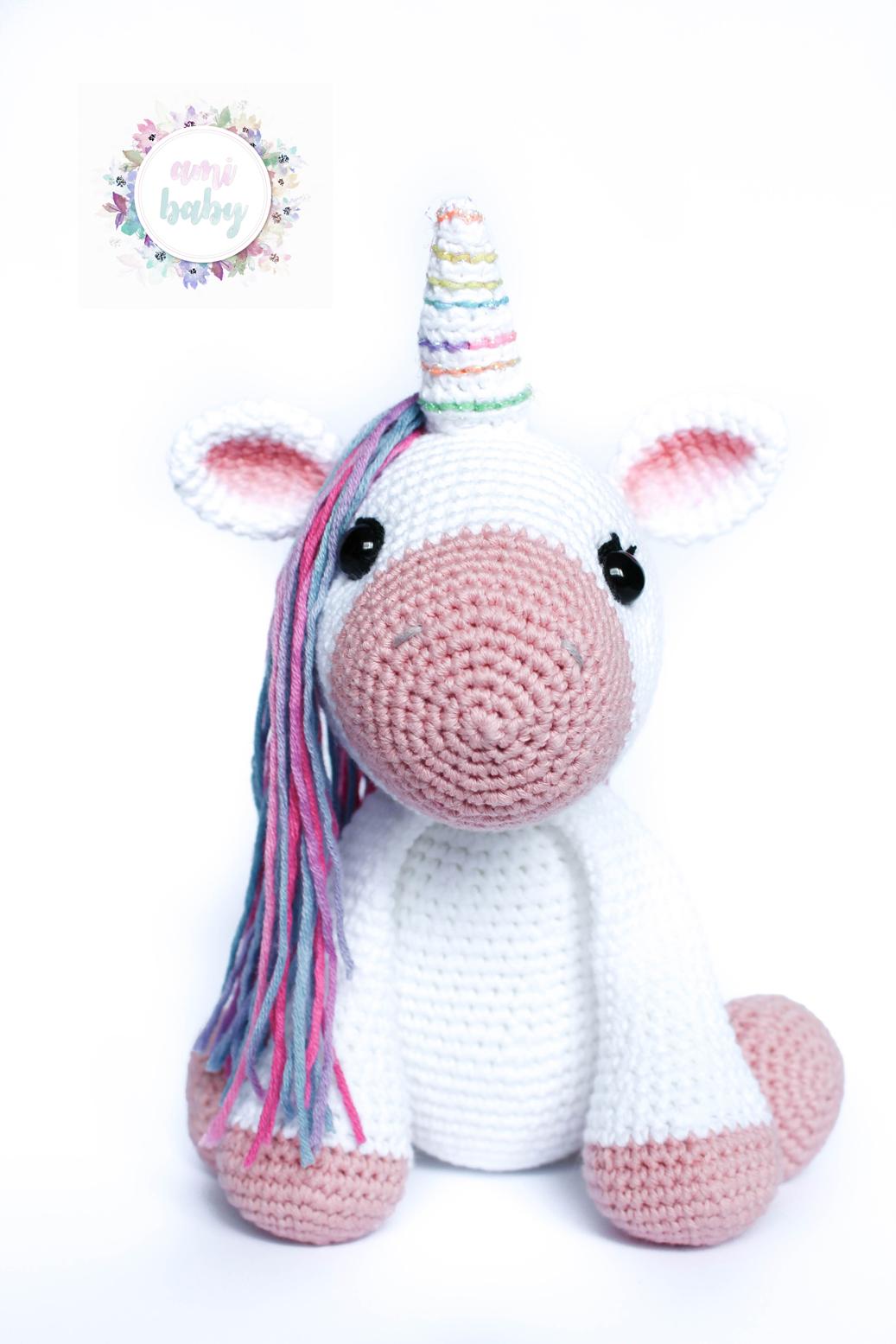 Lujo Patrón De Crochet Unicornio Imágenes - Ideas de Patrón de ...