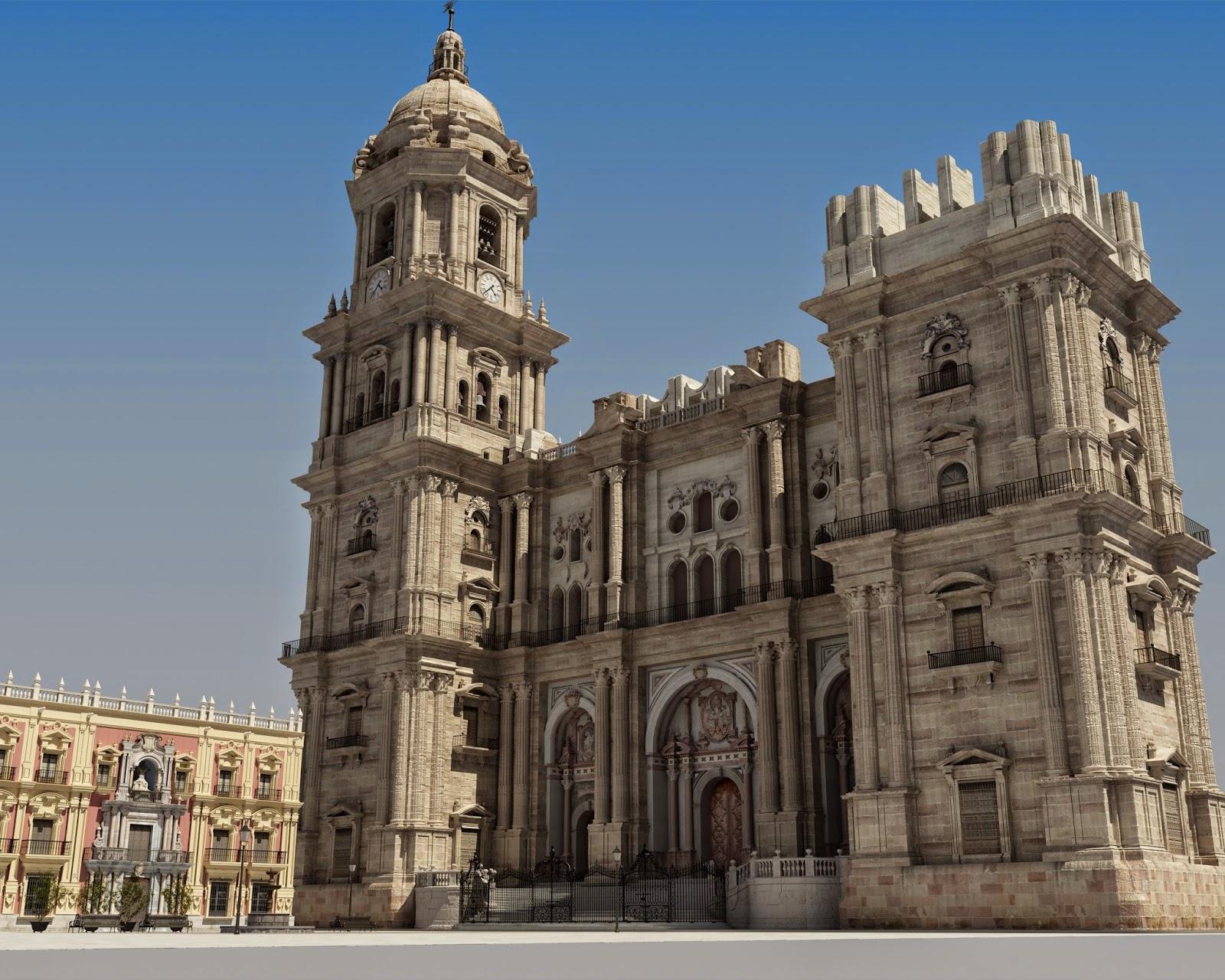 Resultado de imagen de catedral de malaga