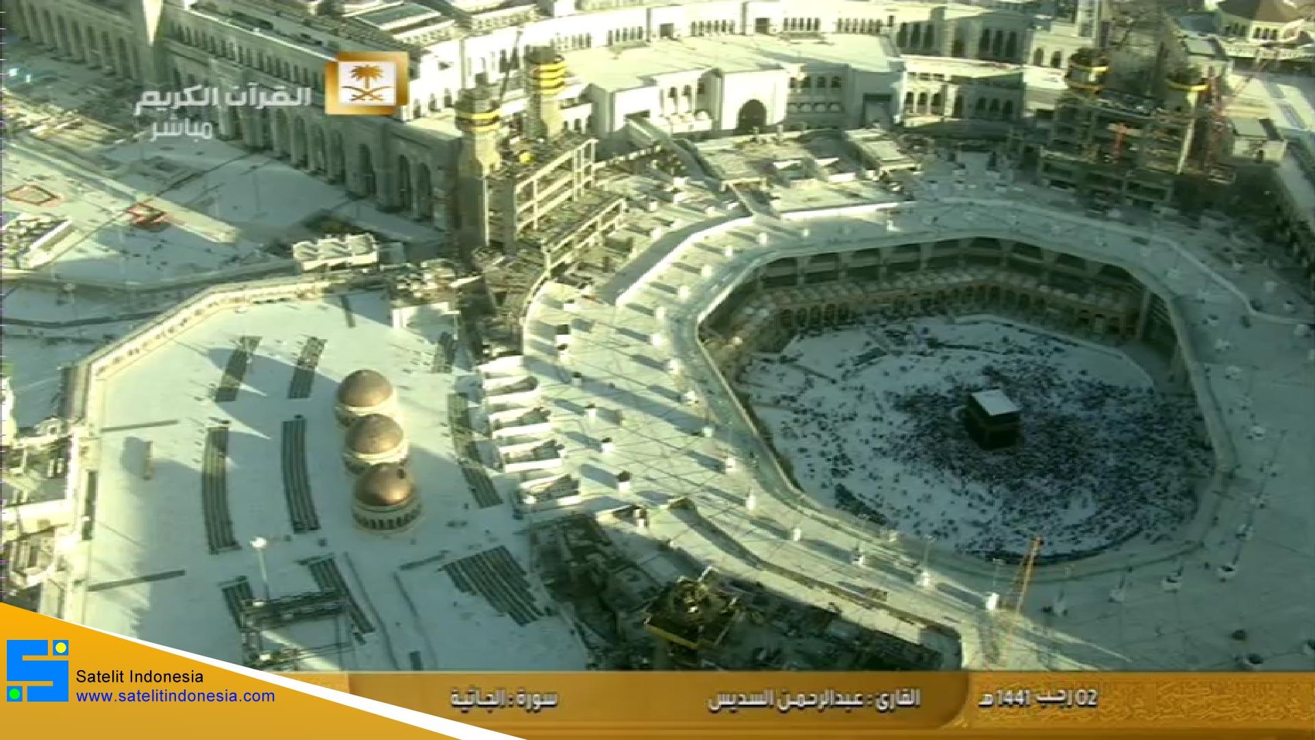 Frekuensi siaran Makkah TV di satelit Telkom 4 Terbaru