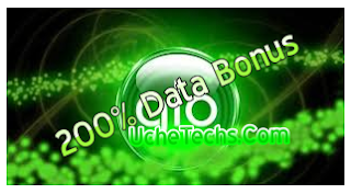 Glo 200 %data bonus