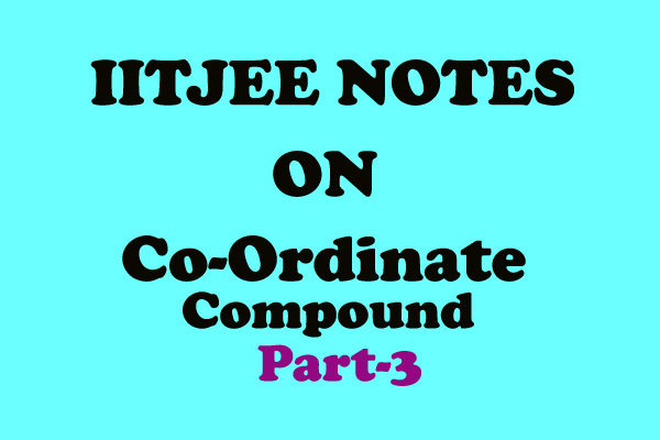 coordinate compound chemistry