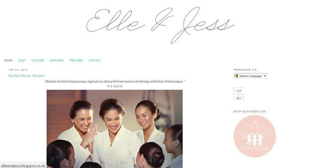 Blog elleandjess.blogspot.com - Beauty Blogger Indonesia Terbaik