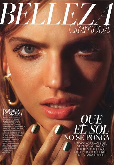 Fashion Model, @ Aleksandra Gworys - Glamour Spain, July 2016