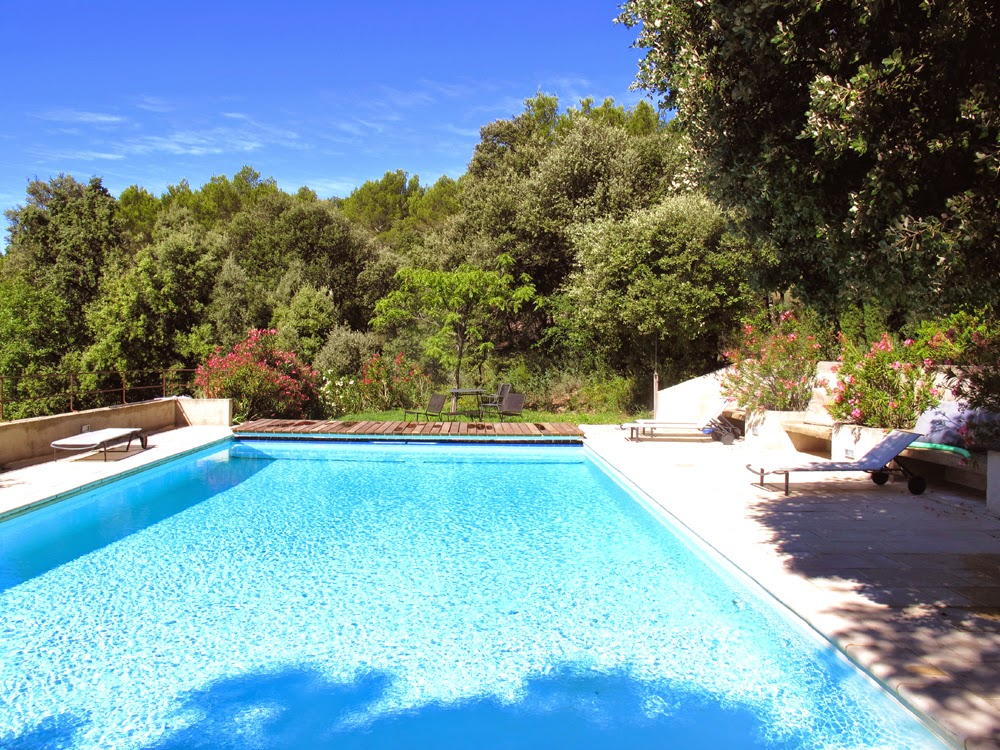 Luxury private pool in Provence, France