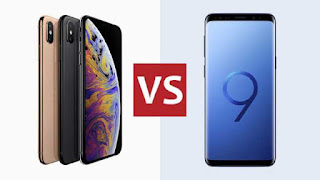 Who is the best in Apple iPhone XS Max and Samsung Galaxy S9