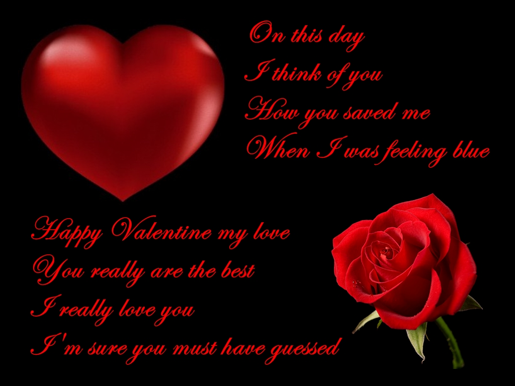 valentine's poems - photo #14