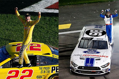 oey  Logano wins the 'Pennzoil 400' and Chase Briscoe wins the 'Boyd Gaming 300.'  #NASCAR #MENCS #NXS