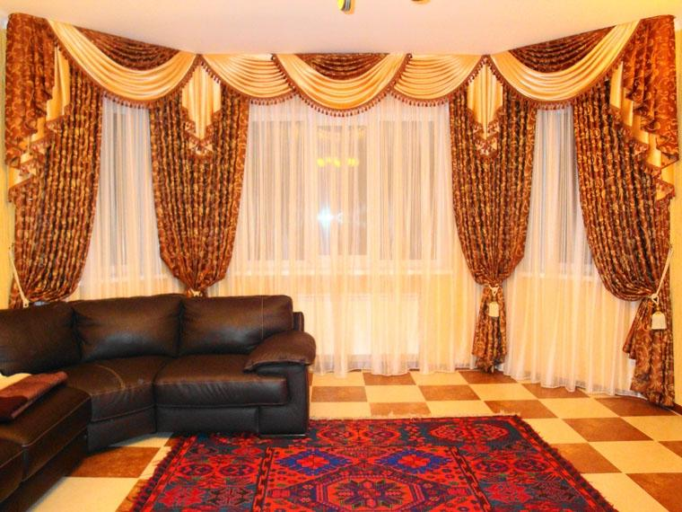 Curtains For Living Room Windows With Valances