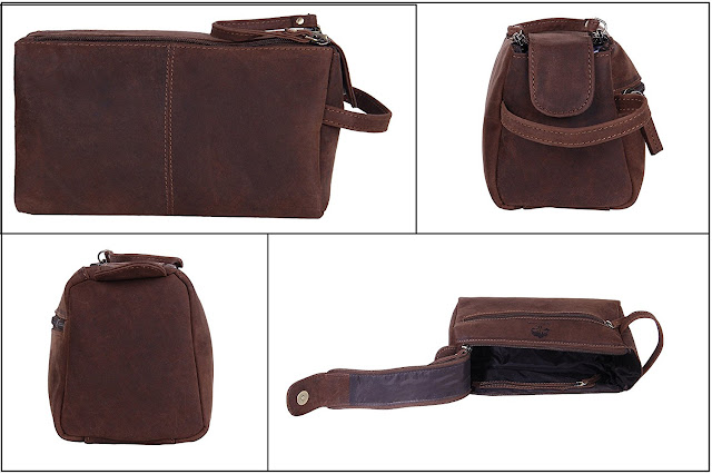 étui de beauté trousse de beauté étui en cuir sac en cuir trousse de toilette sac culture pour homme femme Voyage et utilisation quotidienne