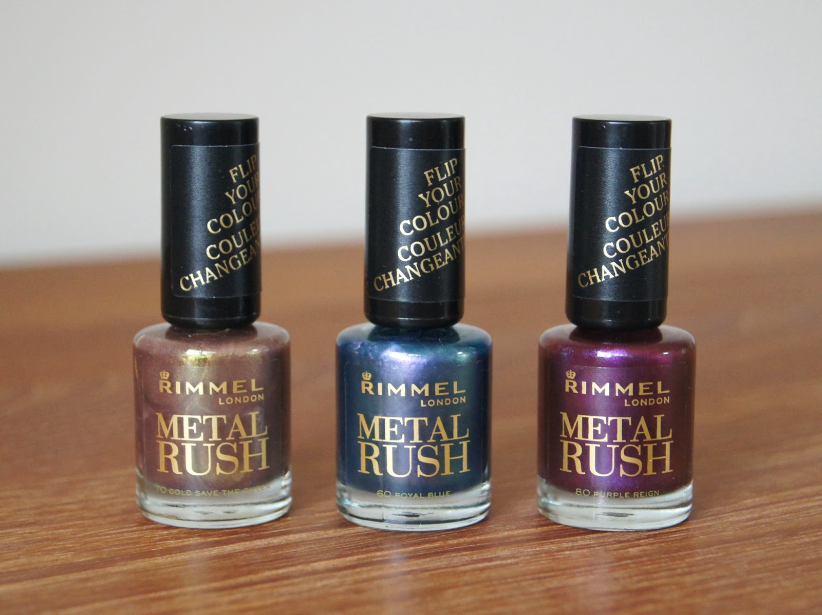 rimmel metal rush nail varnish polish collection review