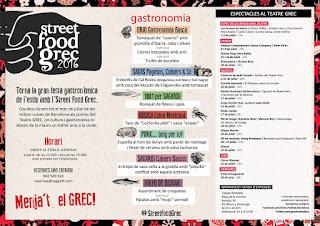 Street Food Grec 2016 Grupo Sagardi