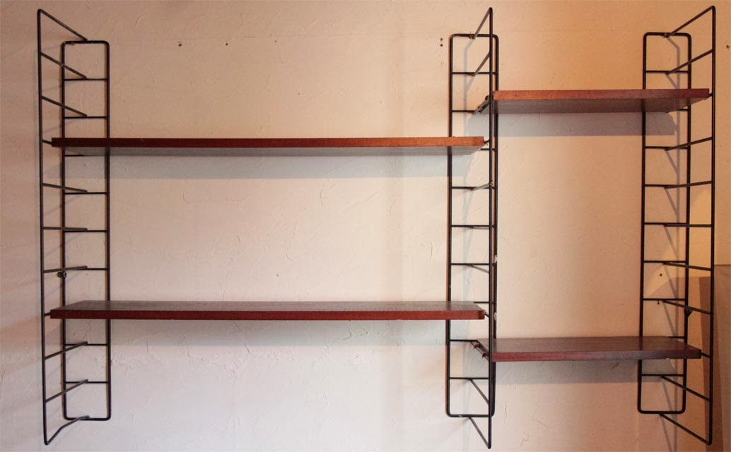 chicbaazar objets vintage 50 60 70 tag re style string tomado. Black Bedroom Furniture Sets. Home Design Ideas