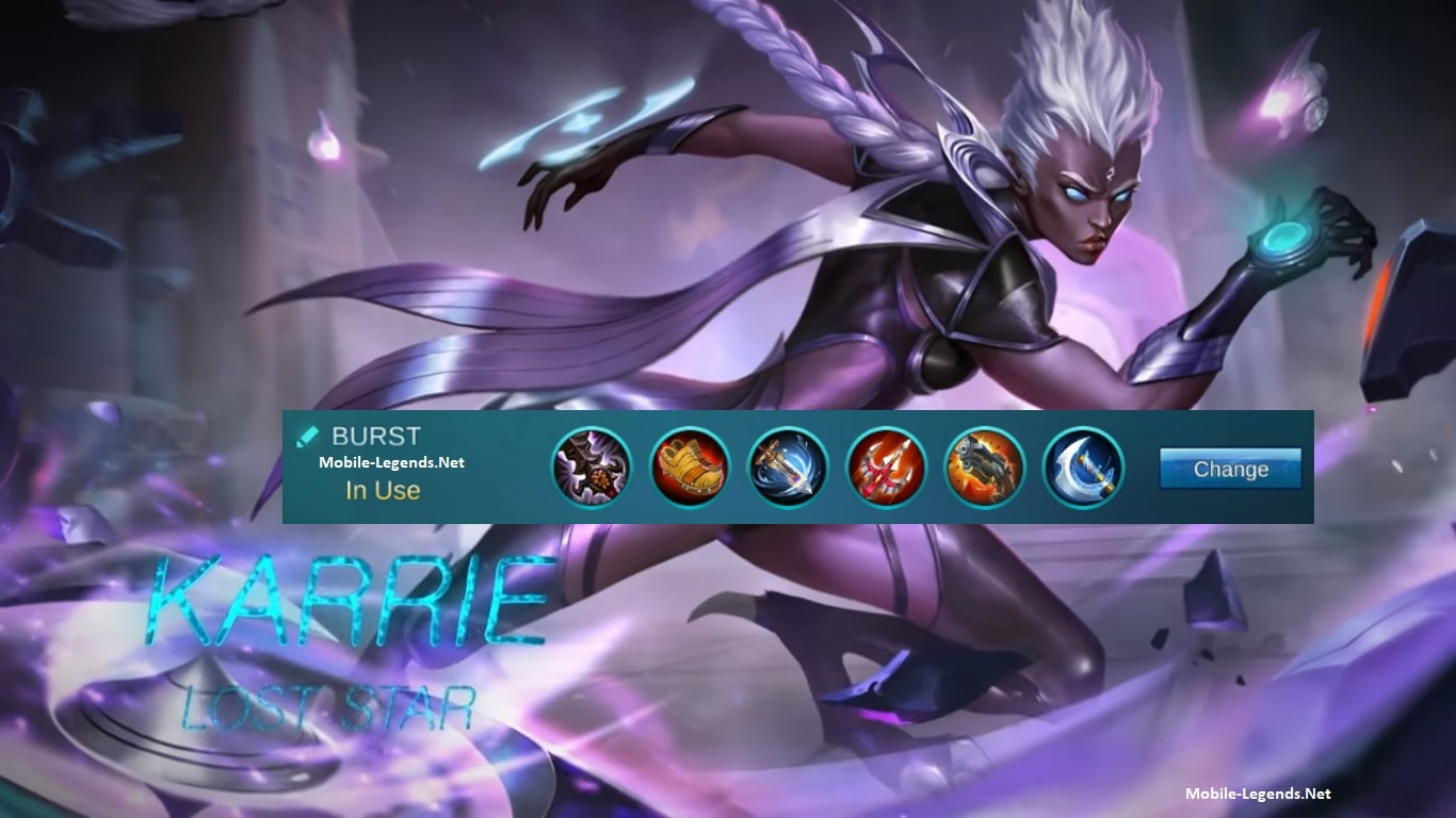 Awesome Karrie Is With High Offense And Difficulty Rate In MLBB, Which Makes Her A  Great Marksman. Her Specialty Is To Reap/Burst Damage, And Trust Me, ...