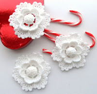 Свадебные цветы вязаные крючком