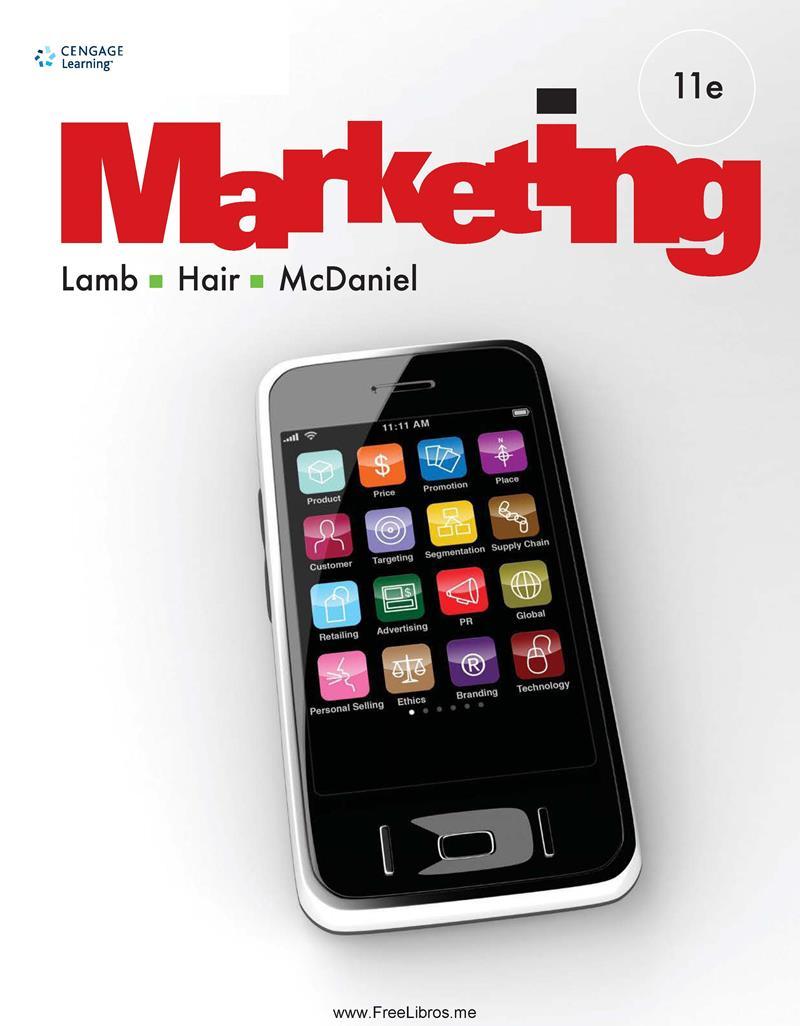 Marketing, 11ma Edición – Lamb, Hair, McDaniel