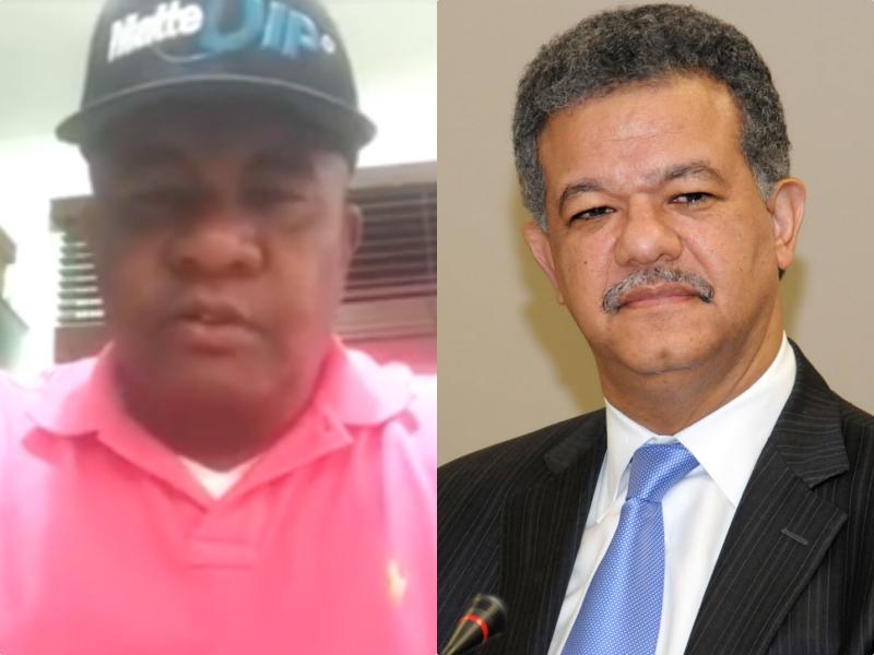 """Video - Quirino a Leonel Fernández: """"A ese señor lo que le conviene es pagarme mi dinero"""""""
