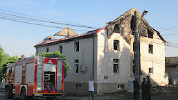 update / Incendiu puternic la Calafat, biserică făcută scrum