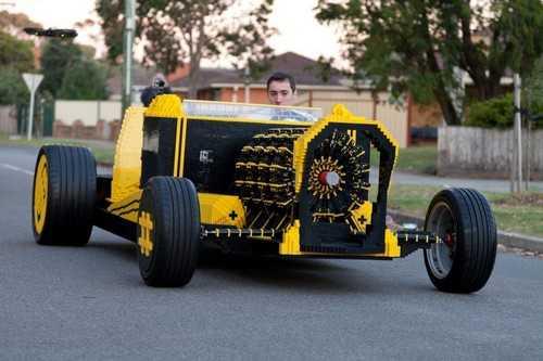Το μεγαλύτερο αυτοκίνητο Lego top ten