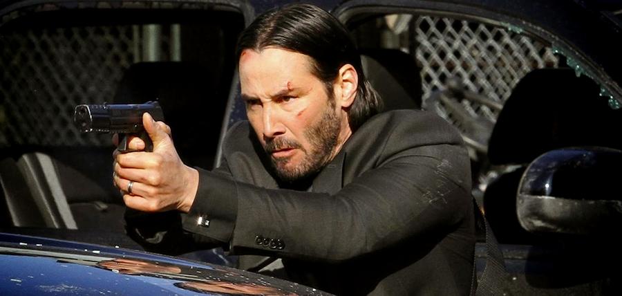 Keanu Reeves este John Wick, un fost asasin dornic de răzbunare