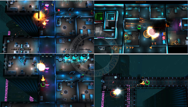 Game Neon Chrome Apk Data free
