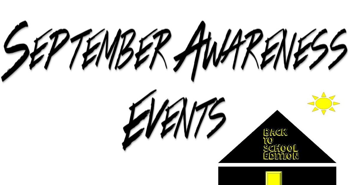 For High School Counselors: September Awareness Events
