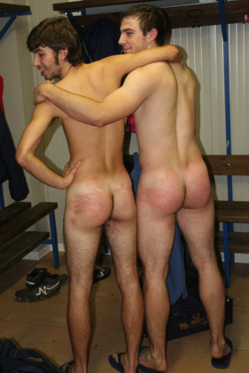 Boys getting spanked